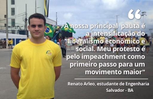 Imagem retirada do site http://g1.globo.com/politica/noticia/2015/08/rostos-e-frases-das-manifestacoes.html