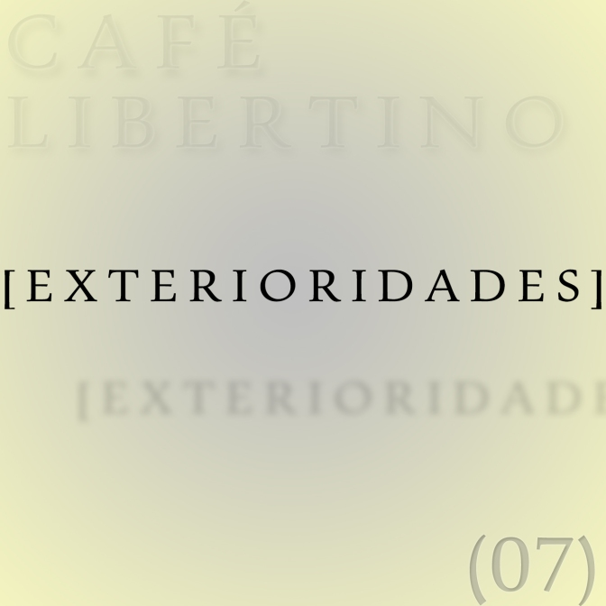 07 – Exterioridades